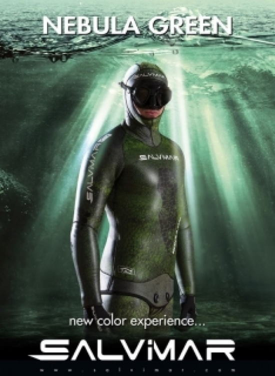 Гидрокостюм SALVIMAR NEBULA GREEN 7 мм.