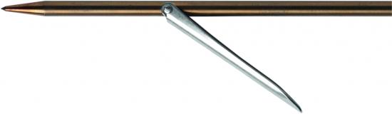 Гарпун tahitian Shaft, один флажок, зацеп прорезь, ø6,25 мм.