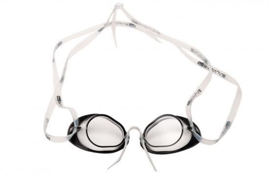 Очки для плавания FLUYD NUOTO PRO Прозрачный силикон, прозрачные линзы