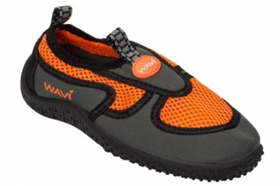 Тапочки неопреновые WAVI детские, ярко оранжевые