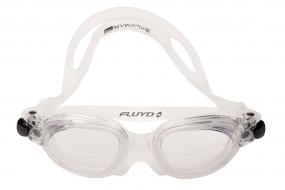 Очки для плавания FLUYD LINEA Прозрачный силикон, прозрачные линзы