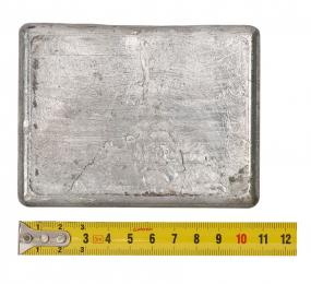 Груз плоский для разгрузочного жилета 1 кг.