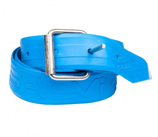 Эластичный ремень SALVIMAR Pro с марсельской пряжкой 135 см. ярко-синий