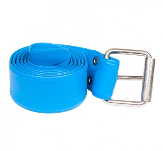 Эластичный ремень SALVIMAR Pro с марсельской пряжкой 155 см. ярко-синий