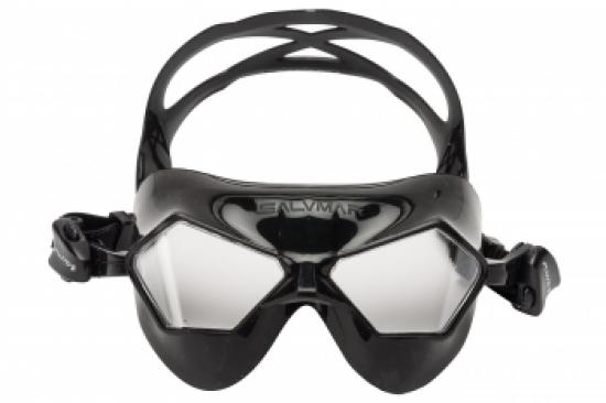 Очки для плавания Salvimar JEKO черный силикон/прозрачные линзы