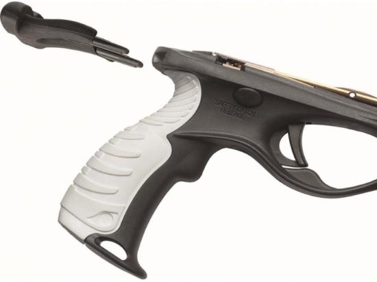 Упор на грудь для заряжания ружья арбалета