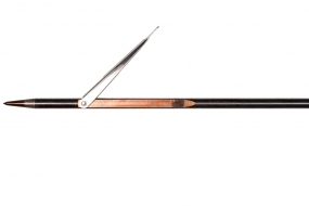 Гарпун таитянского типа из каленой стали 17-4PH, для ружей: Vuoto, Vintair, Mares Cyrano и Pelengas, ø 7mm Один флажок