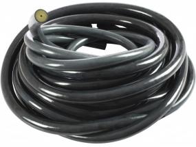 Тяж резиновый черный, класс А, ø 16.5 мм х 5 м на отрез (Цена за 10 см.)