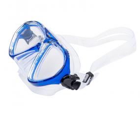 Набор детский Wavi маска FRANCY и трубка TORNADO цвет голубой